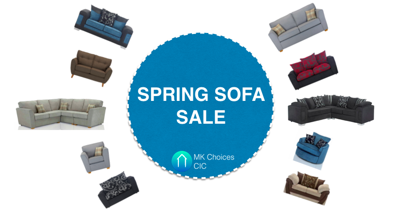 Spring Sofa Sale Now On!