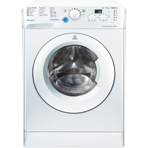 Indesit 7kg White Washing Machine