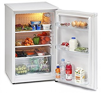 ICEKING WHITE 50CM WIDE UNDER COUNTER LARDER FRIDGE