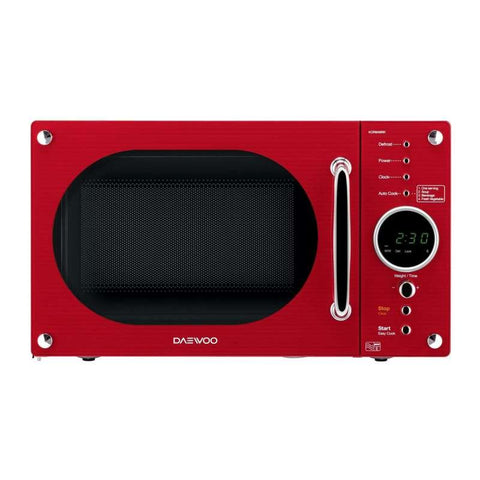 DAEWOO GLOSS RED RETRO DESIGN MICROWAVE