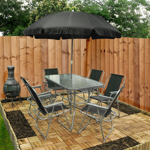 8 Piece Garden Furniture Set