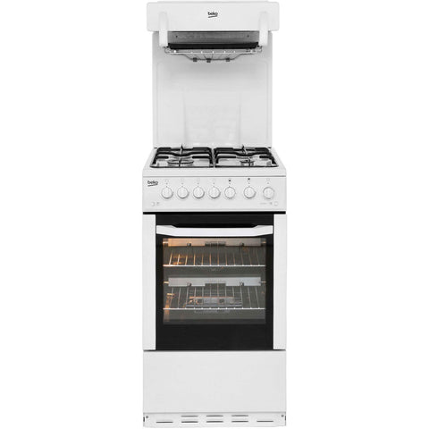 BEKO WHITE EYE LEVEL GAS COOKER - MK Choices CIC
