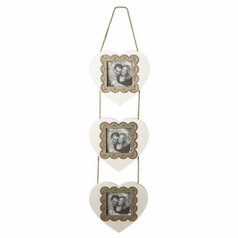 Hanging Heart Photo Frame - MK Choices CIC