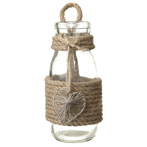 Bottle With Metal Heart - MK Choices CIC