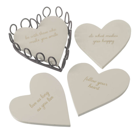 Heart Coasters - MK Choices CIC