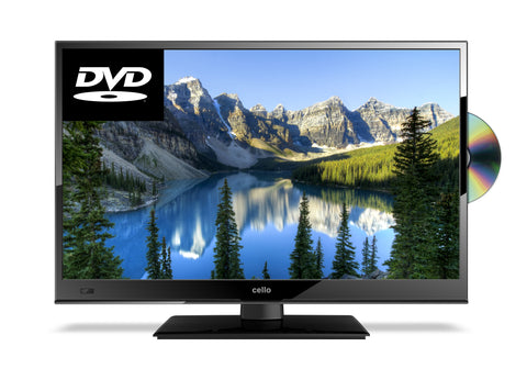 "CELLO 22"" HD READY TELEVISION WITH BUILT IN DVD PLAYER"