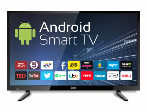 "CELLO 32"" LED ANDROID SMART TELEVISION"