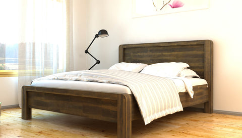Chester Solid Acacia Wooden Bed - MK Choices CIC
