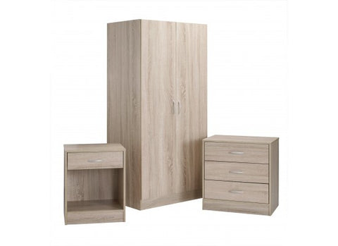 Delta 3 Piece Bedroom Set - MK Choices CIC