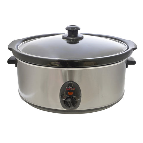 LLOYTON STAINLESS STEEL 6.5L SLOW COOKER - MK Choices CIC