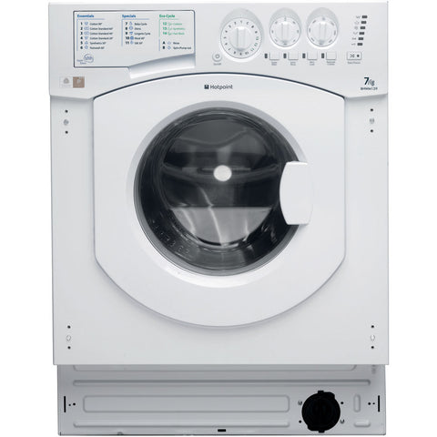 HOTPOINT 1200 SPIN INTEGRATED WASHING MACHINE