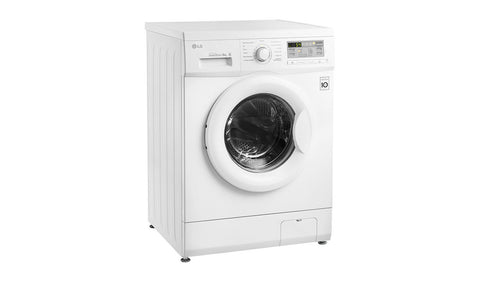 lg white 6kg 12oo spin direct drive washing machine with smart diagnosis