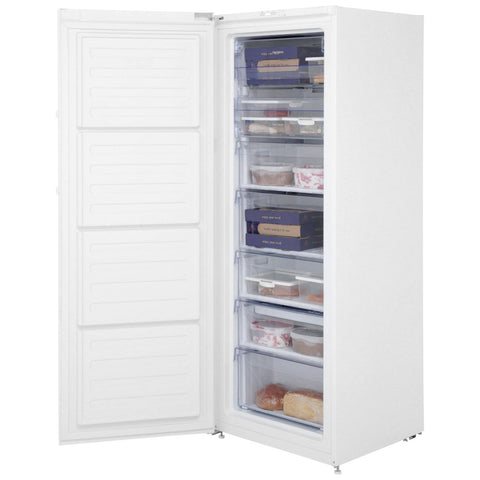 BEKO WHITE TALL FROST FREE FREEZER - MK Choices CIC