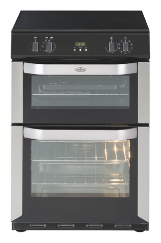 BELLING STAINLESS STEEL MULTIFUNCTION ELECTRIC COOKER WITH DOUBLE OVEN AND TOUCH CONTROL INDUCTION HOB - MK Choices CIC