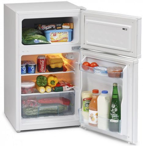 ICEKING WHITE UNDER COUNTER FRIDGE FREEZER - MK Choices CIC