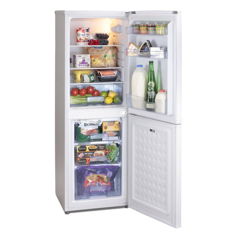 ICEKING WHITE 48CM WIDE FRIDGE FREEZER