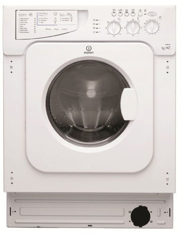 INDESIT FULLY INTEGRATED 1200 SPIN 6KG WASHER DRYER