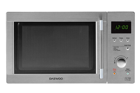 DAEWOO STAINLESS STEEL TOUCH AND DIAL MICROWAVE WITH STAINLESS STEEL CAVITY - MK Choices CIC
