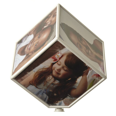 Rotating Cube Photo Frame - MK Choices CIC