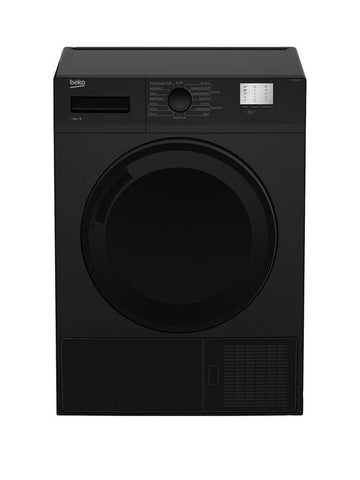 BEKO BLACK 7KG CONDENSER SENSOR TUMBLE DRYER