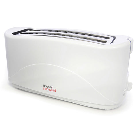 LLOYTRON WHITE 4 SLICE TOASTER - MK Choices CIC