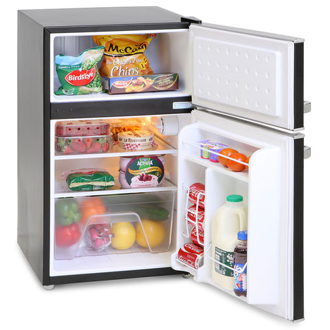 MONTPELLIER UNDERCOUNTER RETRO STYLE FRIDGE FREEZER - MK Choices CIC