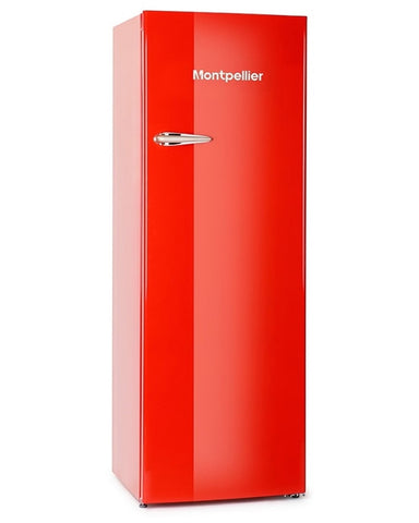 MONTPELLIER RETRO STYLE TALL FRIDGE WITH 4*ICEBOX - MK Choices CIC