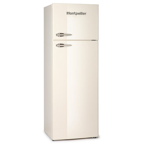 MONTPELLIER RETRO STYLE TOP MOUNT FRIDGE FREEZER - MK Choices CIC