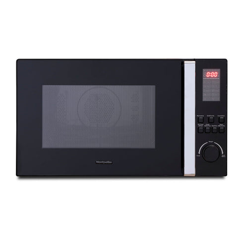 MONTPELLIER BLACK 25LTR COMBINATION MICROWAVE - MK Choices CIC