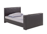 TV Bed - Faux Leather with Electric Lift