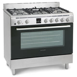 MONTPELLIER ESSENTIAL COLLECTION  90CM SINGLE CAVITY DUEL FUEL RANGE COOKER - MK Choices CIC