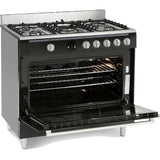 MONTPELLIER ESSENTIAL COLLECTION 90CM SINGLE CAVITY GAS RANGE COOKER - MK Choices CIC