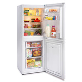 MONTPELLIER WHITE 152CM TALL STATIC FRIDGE FREEZER - MK Choices CIC