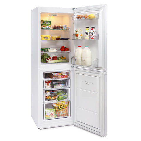 MONTPELLIER WHITE 170CM TALL STATIC FRIDGE FREEZER - MK Choices CIC