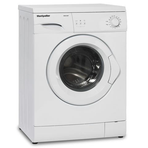 MONTPELLIER WHITE 1000 SPIN 5KG WASHING MACHINE - MK Choices CIC