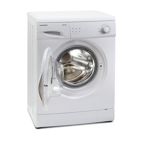 MONTPELLIER WHITE 6KG 1000 SPIN WASHING MACHINE - MK Choices CIC