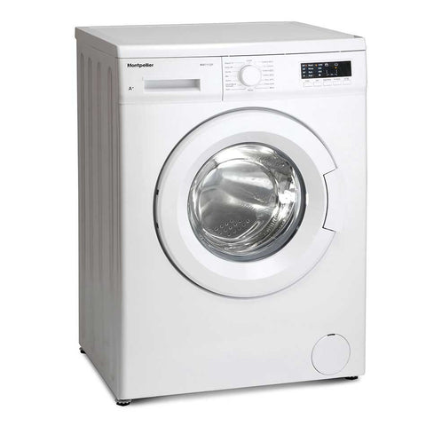 MONTPELLIER WHITE 7KG 1200 SPIN WASHING MACHINE - MK Choices CIC