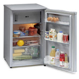 ICEKING SILVER 50CM WIDE UNDER COUNTER FRIDGE WITH 4* ICEBOX - MK Choices CIC