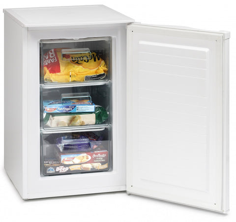 ICEKING WHITE 50CM WIDE UNDER COUNTER FREEZER - MK Choices CIC