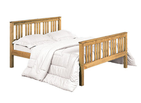 Shaker Pine Bed - MK Choices CIC