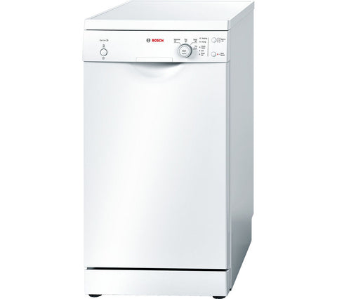 BOSCH WHITE ACTIVEATER SLIMLINE DISHWASHER - MK Choices CIC