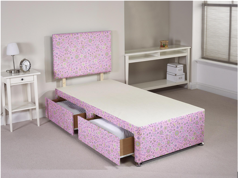 Princess Divan Bed Set