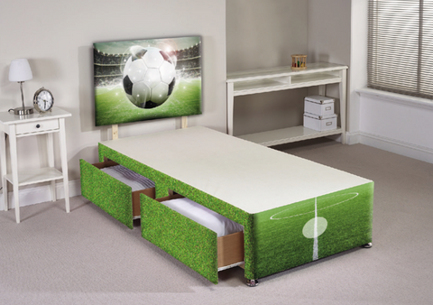 Football Divan Bed Set