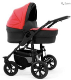 DaVos Rimini Baby Pram Pushchair 2in1 - Red