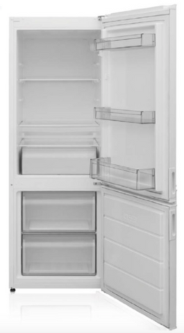 MONTPELLIER WHITE STATIC FRIDGE FREEZER