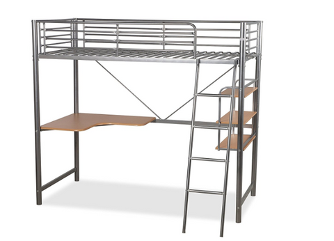 High Sleeper Desk Bunk Bed
