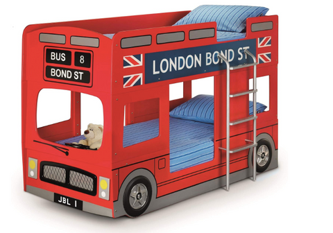 London Bus Bunk Bed Set