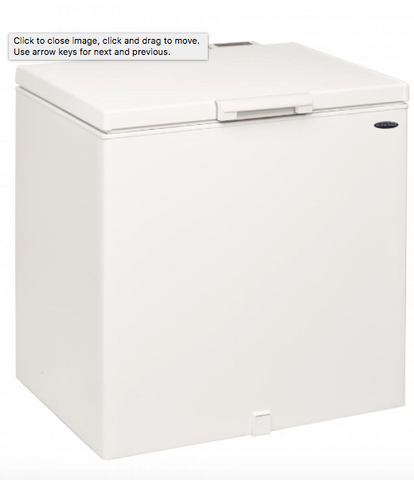 ICEKING WHITE 200L CHEST FREEZER