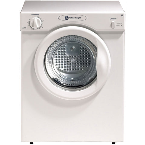 WHITE KNIGHT COMPACT 3KG UNI-DIRECTION TUMBLE DRYER - MK Choices CIC
