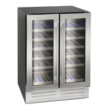 MONTPELLIER STAINLESS STEEL DUAL ZONE WINE CHILLER - MK Choices CIC